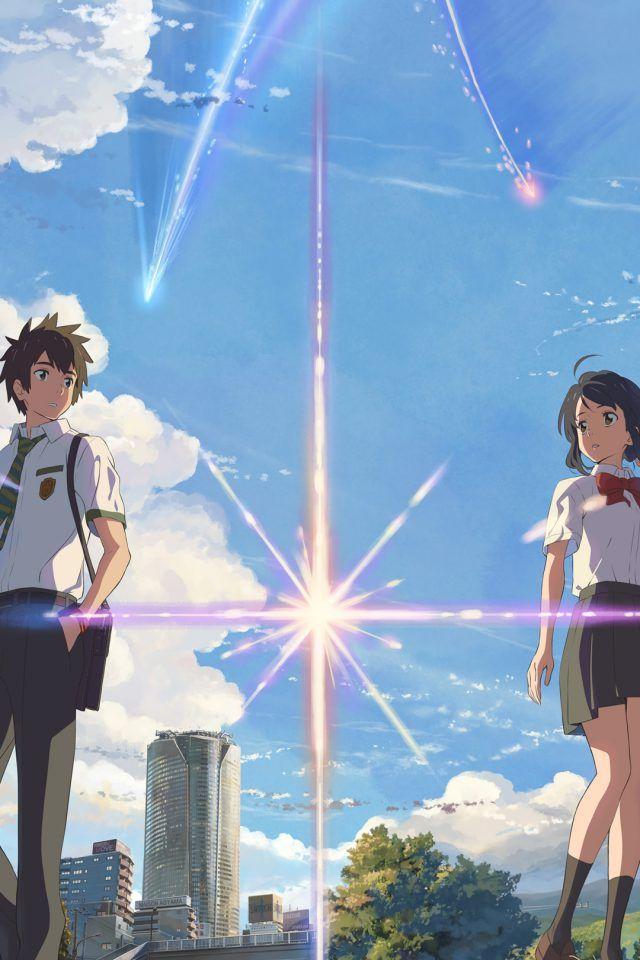 Wallpaper Kimi No Nawa Portrait Anime Tudo Anime Planos De Fundo