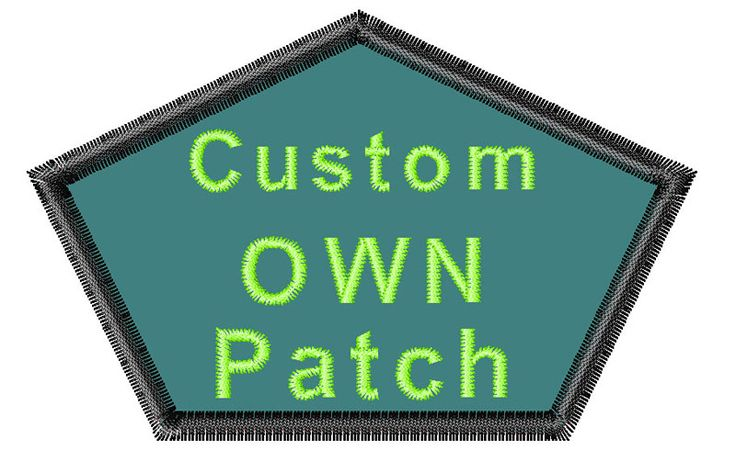 Free Shipping Custom Embroidery Patch for Clothing Patches Military Punisher Patches