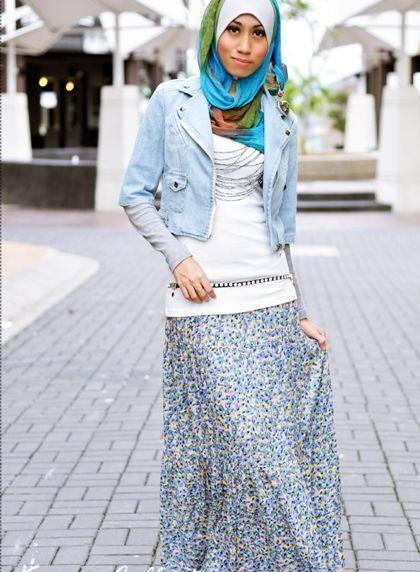 Hijab Fashion ..