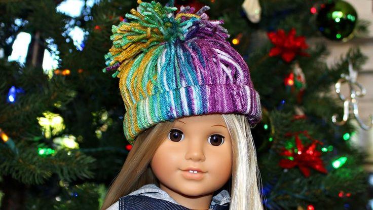 Doll Winter Hat | DIY American Girl Doll Crafts