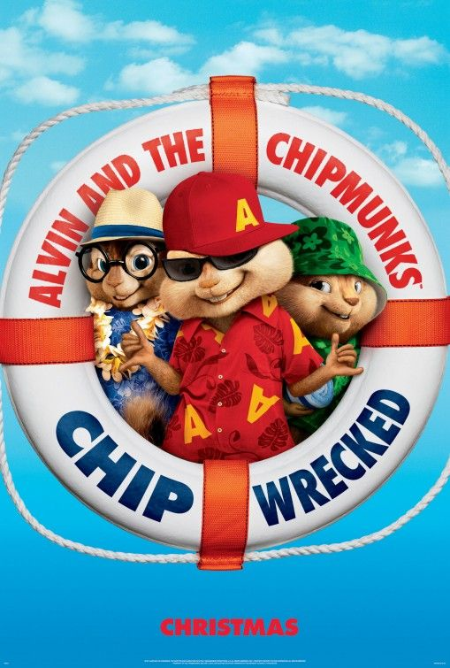 Movie Poster - Alvin and the Chipmunks: Chip-Wrecked