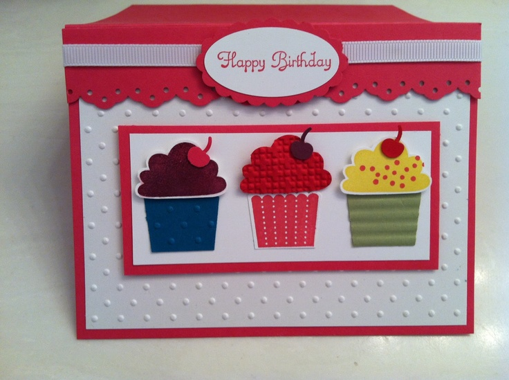 Stampin'Up! Create a Cupcake Birthday card