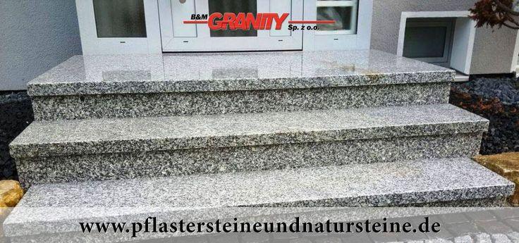 Treppen aus Granit (Sonderanfertigung ) - Foto von unseren Kunden