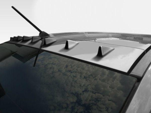 Duraflex 08 14 Mitsu Lancer Evolution 10 4dr Rx S Roof Spoiler Evolution 10 Mitsubishi Lancer Evolution