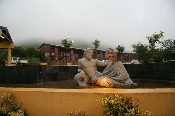 Thaba Tshwene Game Lodge in the #mist
