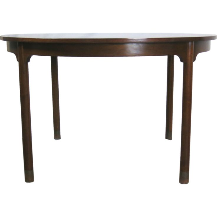 1stdibs baker extension dining table in the style of michael taylor explore items from 1700 - Dining Room Items