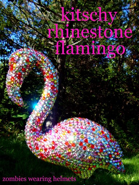 Rhinestone Flamingo!! YES!