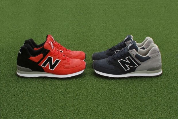 "Concepts x New Balance 574 ""Home vs. awaY"" Pack, Made in USA."