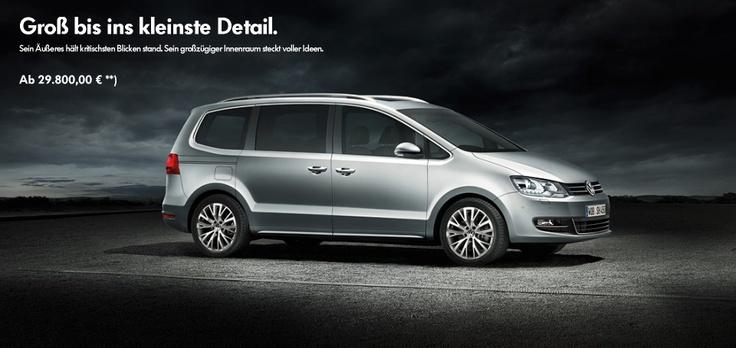 Groß bis ins kleinste Detail. < Sharan < Modelle < Volkswagen Deutschland  VW Sharan, Sharan