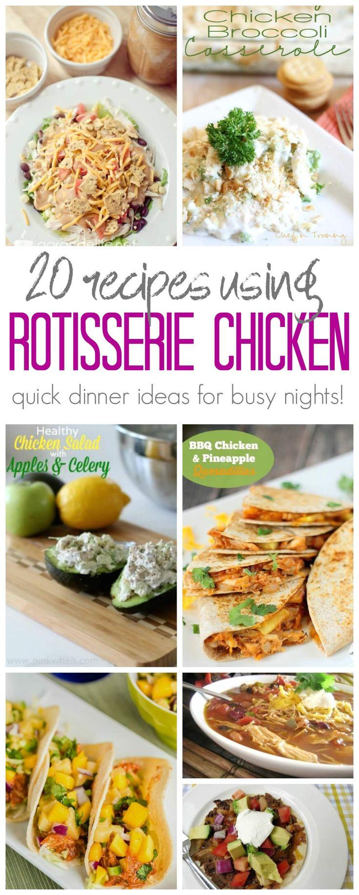 Best 25 Leftover Rotisserie Chicken Ideas On Pinterest -7283