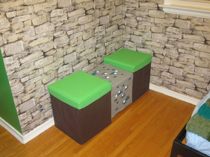 Kids Bedroom Minecraft