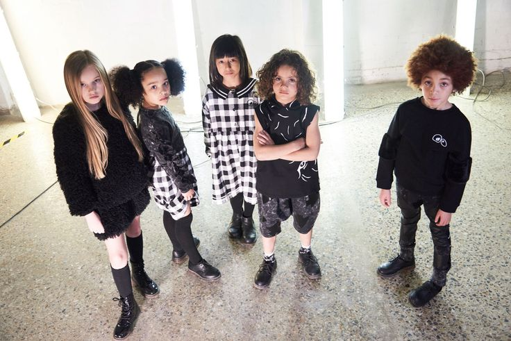 New collection by LOUD Apparel just arrived! Black & White mood for stylish kids!