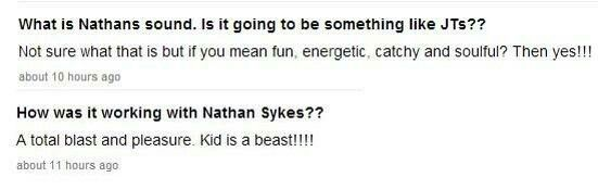 What producer Rob Knox said about@NathanSykes
