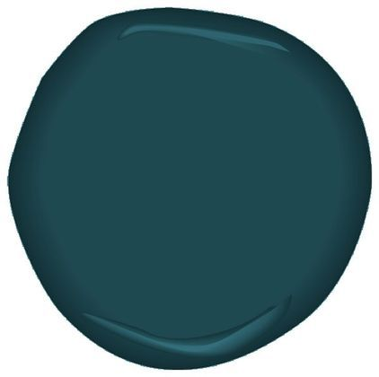 Hubby wants this color for our bedroom- decisions, decisions.....Benjamin Moore Dark Harbor