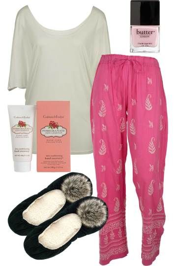 Pink Pomegranate Pom Outfit includes Betty Basics, handpicked by birds, and Annabel Trends at Birdsnest Fashion