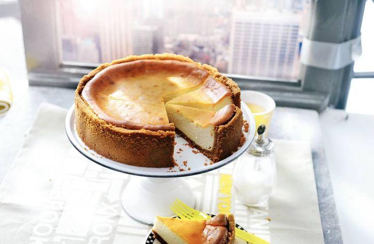 Kijk wat een lekker recept ik heb gevonden op Allerhande! Romige New York cheesecake