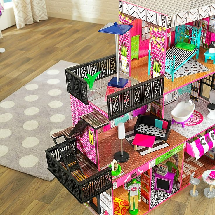 Brooklyn's Loft Dollhouse Terrace!