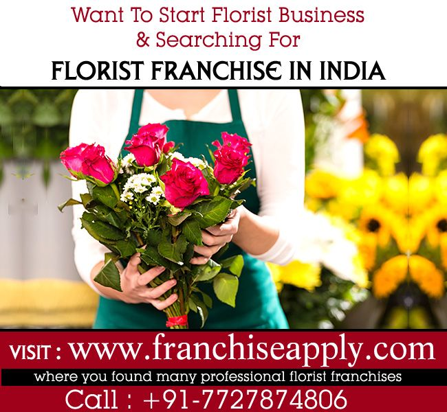 Florist Franchise In India