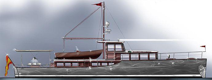 Barracuda Commuter yacht