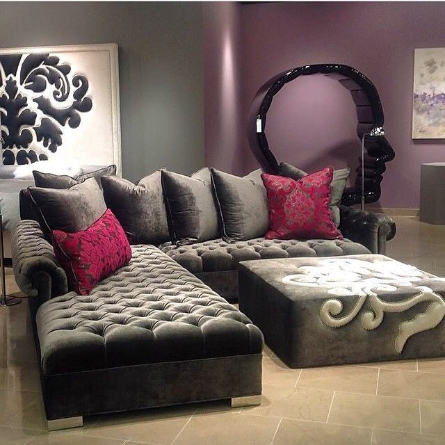 25 Best Ideas About Sectional Sofas On Pinterest: 25+ Best Ideas About Tufted Sectional On Pinterest