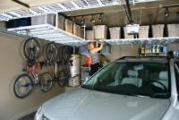5 Quick Ways to Change Your Clutter Habits: Storage Solutions, Bike Design, Garage Organizations, Garage Shelves, Organizations Garage, Storage Bins, Garage Storage, Garage Ideas, Monkey Bar