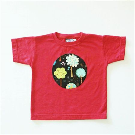 Nature - Appliqued Tshirt -  Size 2. Ready to post.