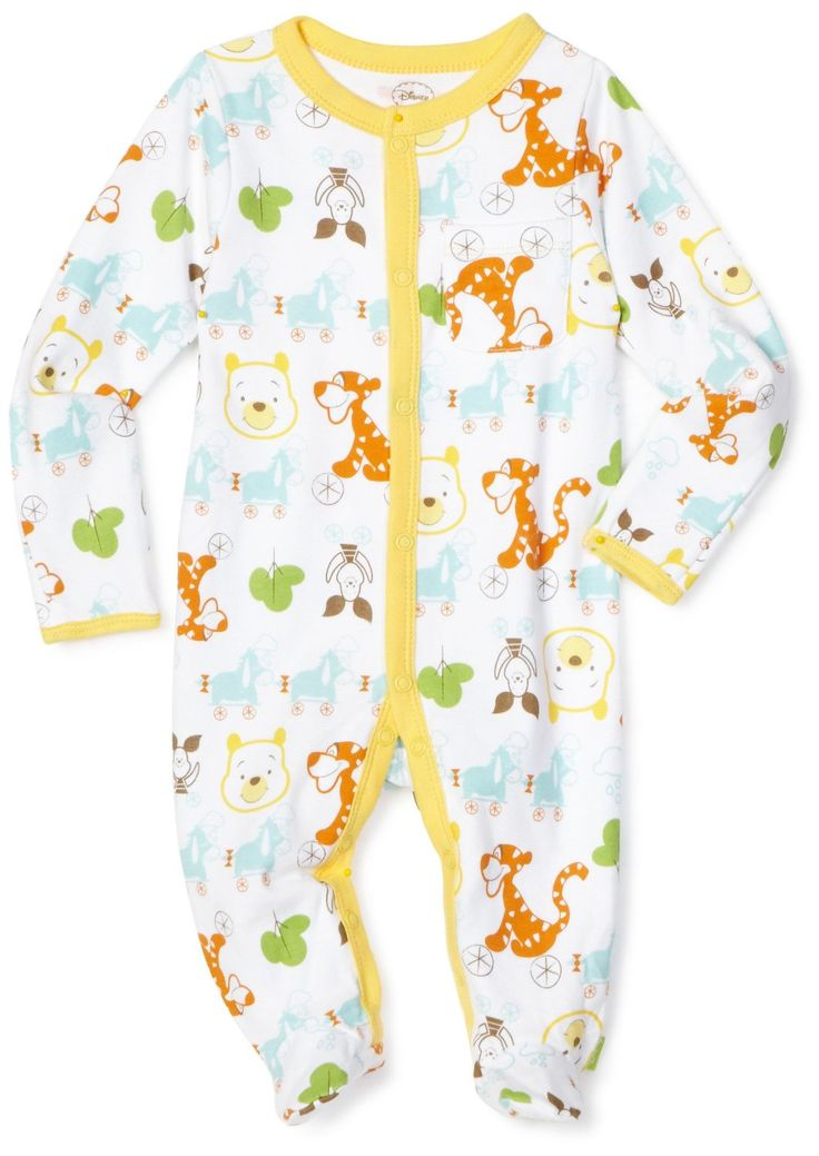 Disney Baby Clothes: Up to 50% off + 25% off at Amazon.com  Disney Baby-Boys Newborn Winnie The Pooh On Wheels  Sleep and Play Romper  was: $14.99; after coupon $11.24 ( oh yea in need of clothes )