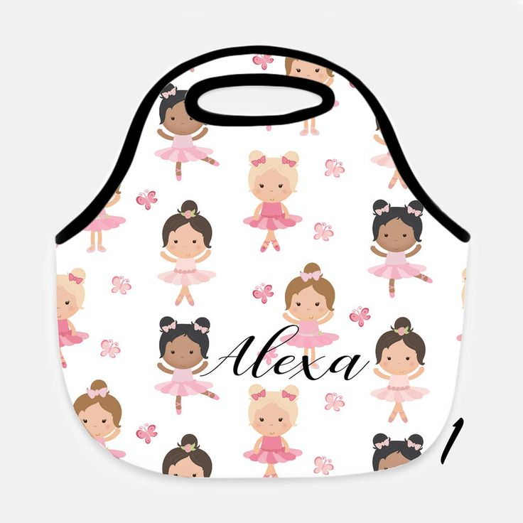 Ballerina lunchbox, Lunchbox, Lunch bag, Lunch tote, Personalized lunch box, Kids lunchbox, Girls lunchbox, Ballerina lunch bag, Ballerina by JolieJomelieDesigns on Etsy https://www.etsy.com/listing/551243235/ballerina-lunchbox-lunchbox-lunch-bag