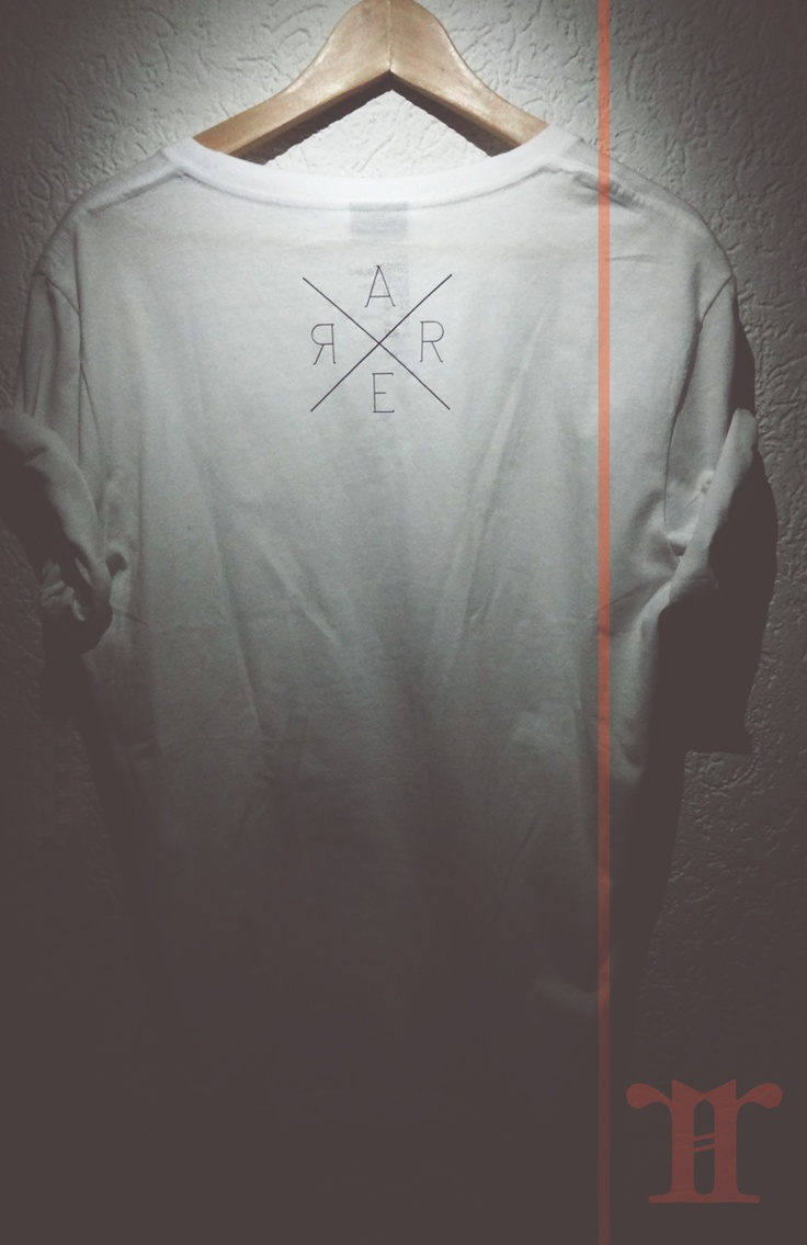 back from white rare tshirt
