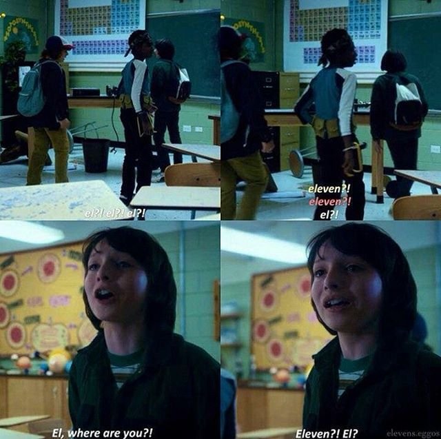 "I cried so hard!! It hurt me so much to see Mike (Finn Wolfhard) and everyone else in so much pain when they saw El ""die"""
