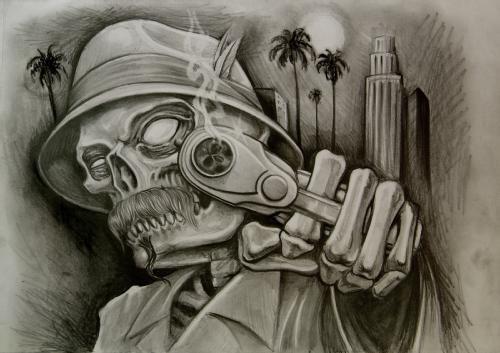 Lowrider Tattoo Flash Chicano Jose Lopez Gangster Book – Fondos de ...