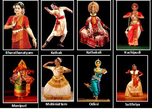 The different types of classical dances from India | Indian ...