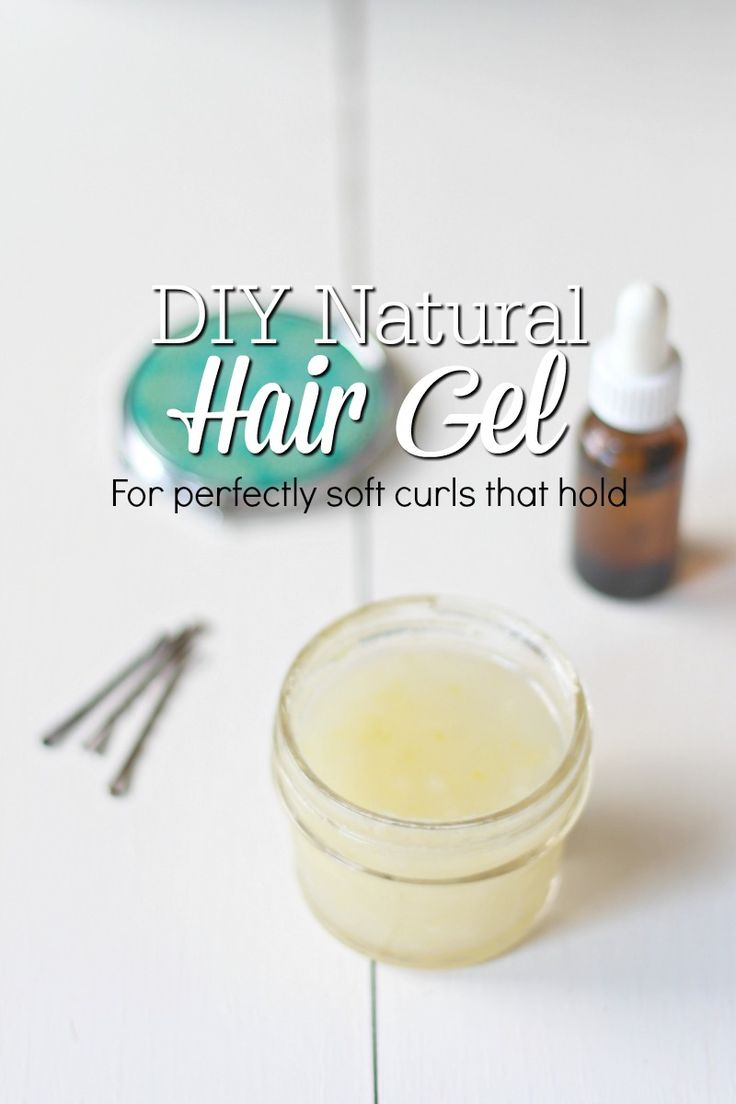 This easy DIY natural hair gel creates perfect soft and bouncy curls that hold together. Also, it tames frizz and lasts all day.