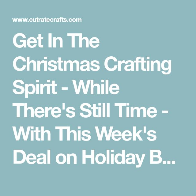 Get In The Christmas Crafting Spirit - While There's Still Time - With This Week's Deal on Holiday Beaded Ornament, Bracelet & Earrings Kits! | Craft supplies, art supplies, scrapbooking supplies and sewing supplies at discount prices — CutRateCrafts.com