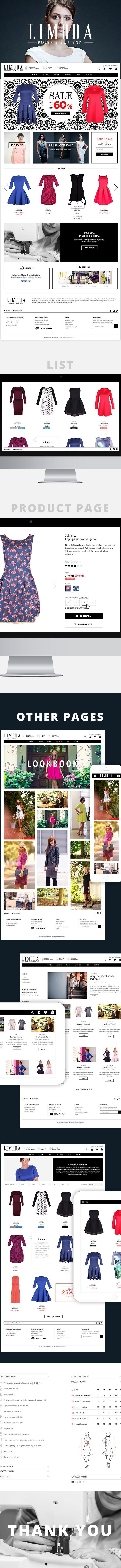 Limoda.pl - Polish dresses e-commerce