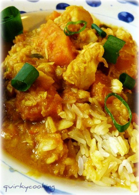 Quirky Cooking: Vietnamese fish curry with sticky rice. OK Thermomix, you've sold me