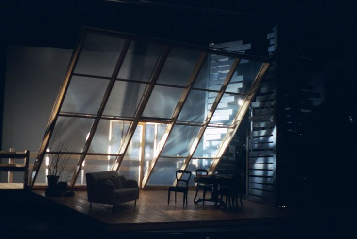Ghosts. Scenic design by Elroy Ashmore.