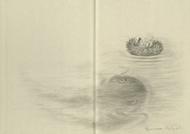 kidpix: Сергей Козлов, Юрий Норштейн «Ёжик в тумане» (художник Франческа Ярбусова)