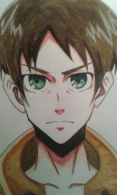 Eren Jaeger from Attack on titan by me