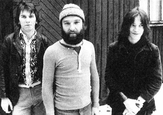Vuosi 1971 ja alkuperäinen Hurriganes: Cisse Häkkinen, Remu Aaltonen, Ile Kallio.