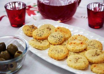 Parmesan biscuits recipe | Baking & Desserts