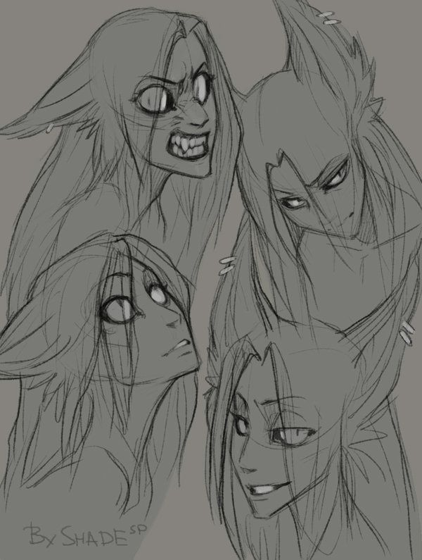 ShadeSP(c) Don't use or copy! Tumblr, Ask Shaden, Youtube I needed to practice some random expressions... And Shaden was my guinea pig... Jeez, I can't stop drawing him like this! X))))