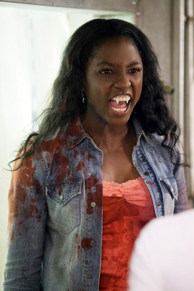 Baby Vamp Tara Thornton (HBO's True Blood) played by Rutina Wesley