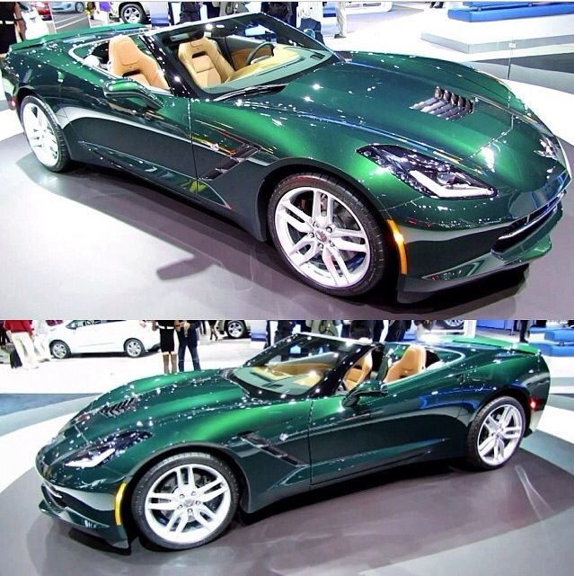 Corvette 2014 -- really pretty color