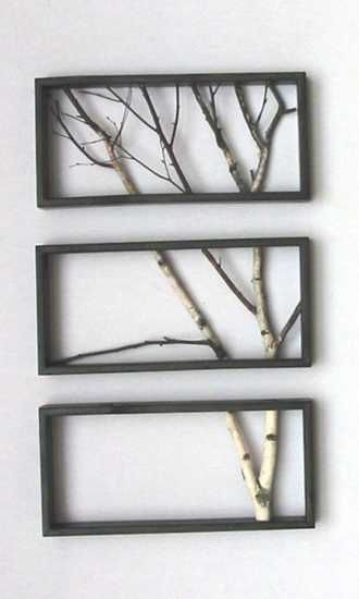 wall branch decor | tree branches for making wall decoration | Bonnes idées