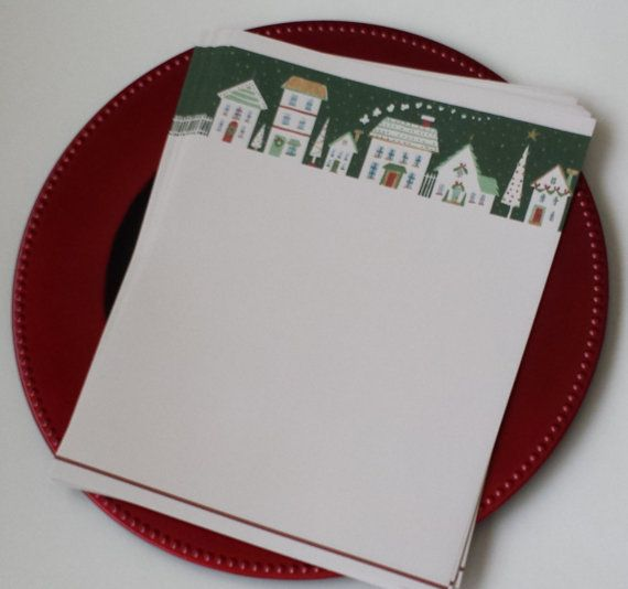 SALE Newsletter Letterhead Paper  Christmas by CreativeCraftSupply, $2.00
