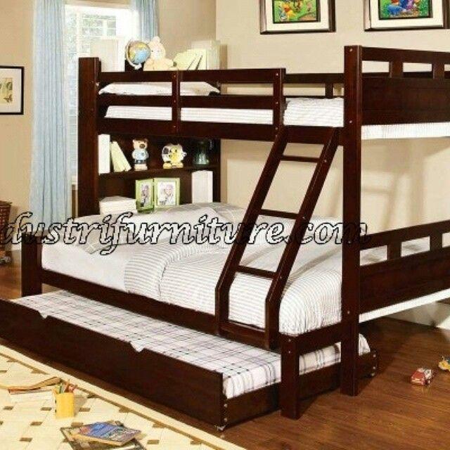 Tempat Tidur Tingkat Anak Sorong Jati merupakan produk dari furniture jepara yang mempunyai kualitas bagus. model tempat tidur tingkat minimalis. silahkan hubungi andris mebel jepara untuk memesannya.