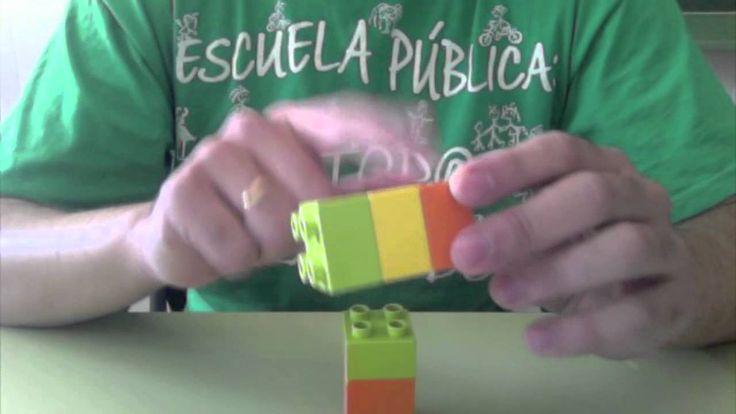 Este vídeo es un experimento en clase. Explico el máximo común divisor y el mínimo común múltiplo con piezas de Lego a mis alumnos de 2º de ESO