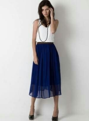 Miff: chiffon skirt (like Trin's)