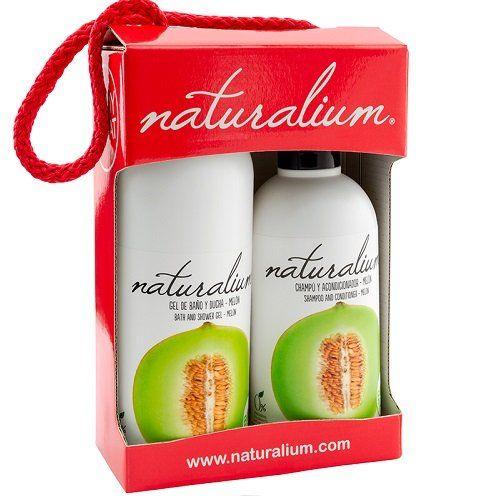 Naturalium Plaukų ir kūno priežiūros priemonių rinkinys, meliono kvapo